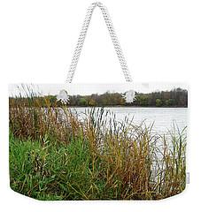 Grassy Bank Weekender Tote Bag