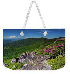 Grassy Ridge Bald Weekender Tote Bag