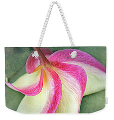 Weekender Tote Bag featuring the photograph Grateful by Kathi Mirto