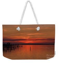 Grateful Sky Weekender Tote Bag