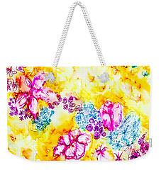 Gratitude Blooms Weekender Tote Bag