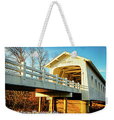 Grave Creek Covered Bridge Weekender Tote Bag