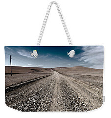 Gravel Dreams Weekender Tote Bag
