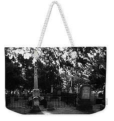 Graveyard 2 Weekender Tote Bag