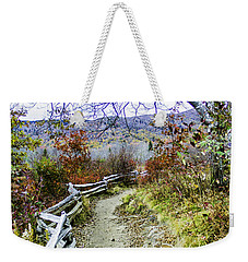 Graveyard Fields Trail Weekender Tote Bag