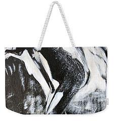 Gray Desert Weekender Tote Bag