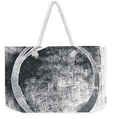 Gray Enso Weekender Tote Bag