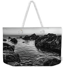 Gray Waters Weekender Tote Bag