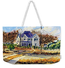 Grayson County Farmhouse Weekender Tote Bag by Ron Stephens