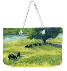 Grazing By The Bear River Weekender Tote Bag