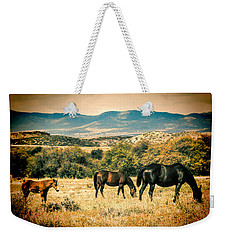 Grazing Weekender Tote Bag by Fred Larson