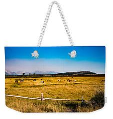 Grazing Horses Weekender Tote Bag