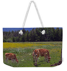 Grazing In The Pasture Weekender Tote Bag