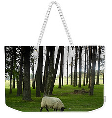 Grazing In The Woods Weekender Tote Bag