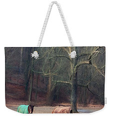 Grazing In West Chester, Pa Weekender Tote Bag