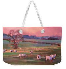 Grazing Sheep Weekender Tote Bag