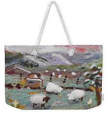 Grazing Woolies Weekender Tote Bag