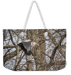 Great Blue Heron 2014-2 Weekender Tote Bag
