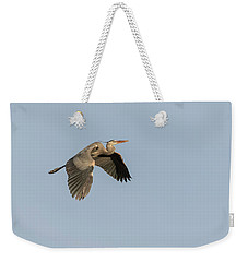 Weekender Tote Bag featuring the photograph Great Blue Heron 2015-15 by Thomas Young