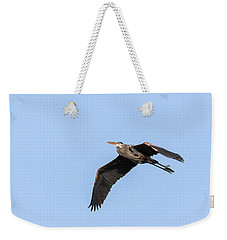 Great Blue Heron 2017-5 Weekender Tote Bag by Thomas Young
