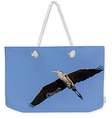 Great Blue Heron 2017-6 Weekender Tote Bag by Thomas Young