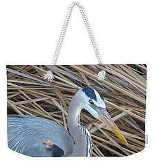 Great Blue Heron On Spi Weekender Tote Bag