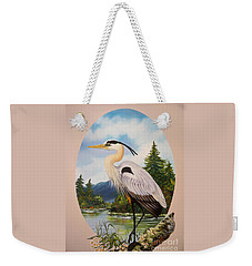 Flying Lamb Productions                 Great Blue Heron Weekender Tote Bag