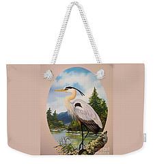 Flying Lamb Productions                 Great Blue Heron Weekender Tote Bag