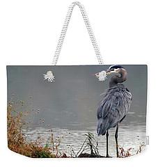 Great Blue Heron Landscape Weekender Tote Bag