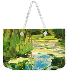 Great Brook Farm Canoe Launch Weekender Tote Bag