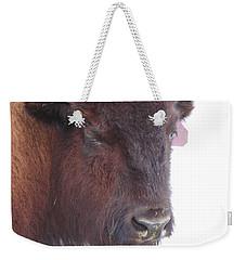 Great Buffalo Weekender Tote Bag by Sean Allen