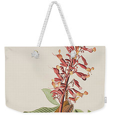 Great Carolina Wren Weekender Tote Bag by John James Audubon