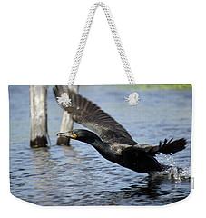 Great Cormorant Weekender Tote Bag
