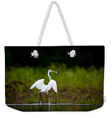 Great Egret, Great Fisherman Weekender Tote Bag