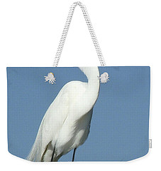Great Egret Profile Weekender Tote Bag