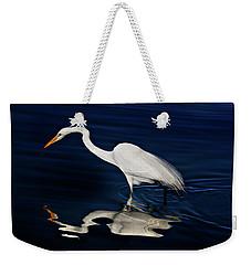 Great Egret-self Reflections Weekender Tote Bag