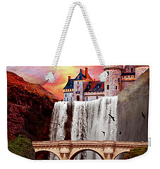 Great Falls Castle Weekender Tote Bag