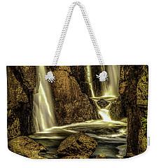 Great Falls Close Up Weekender Tote Bag