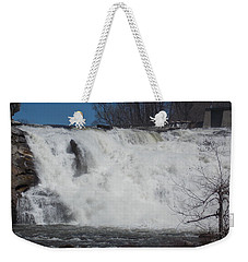 Great Falls In Canaan Weekender Tote Bag