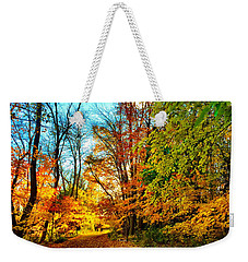 Weekender Tote Bag featuring the photograph Great Finale by Zafer Gurel
