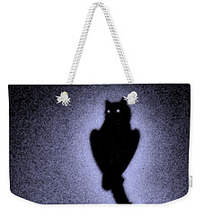 Great Horned Owl In The Desert 4 Weekender Tote Bag