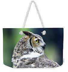 Great Horned Owl Profile Weekender Tote Bag