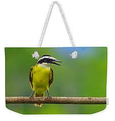 Great Kiskadee Weekender Tote Bag by Tony Beck