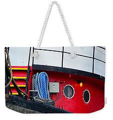 Great Lakes Tugboat Weekender Tote Bag
