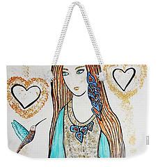 Great Love Weekender Tote Bag