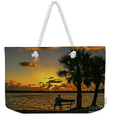 Great Pocket Sunrise Weekender Tote Bag