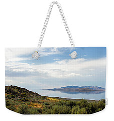 Great Salt Lake Weekender Tote Bag