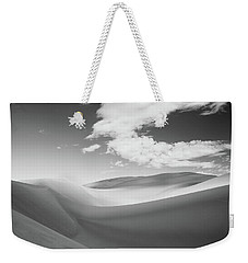 Great Sand Dunes National Park In Black And White Weekender Tote Bag
