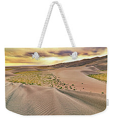 Weekender Tote Bag featuring the photograph Great Sand Dunes Sunset - Colorado - Landscape by Jason Politte