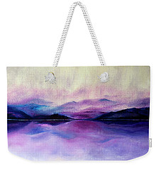 Great Smoky Lakeside Weekender Tote Bag